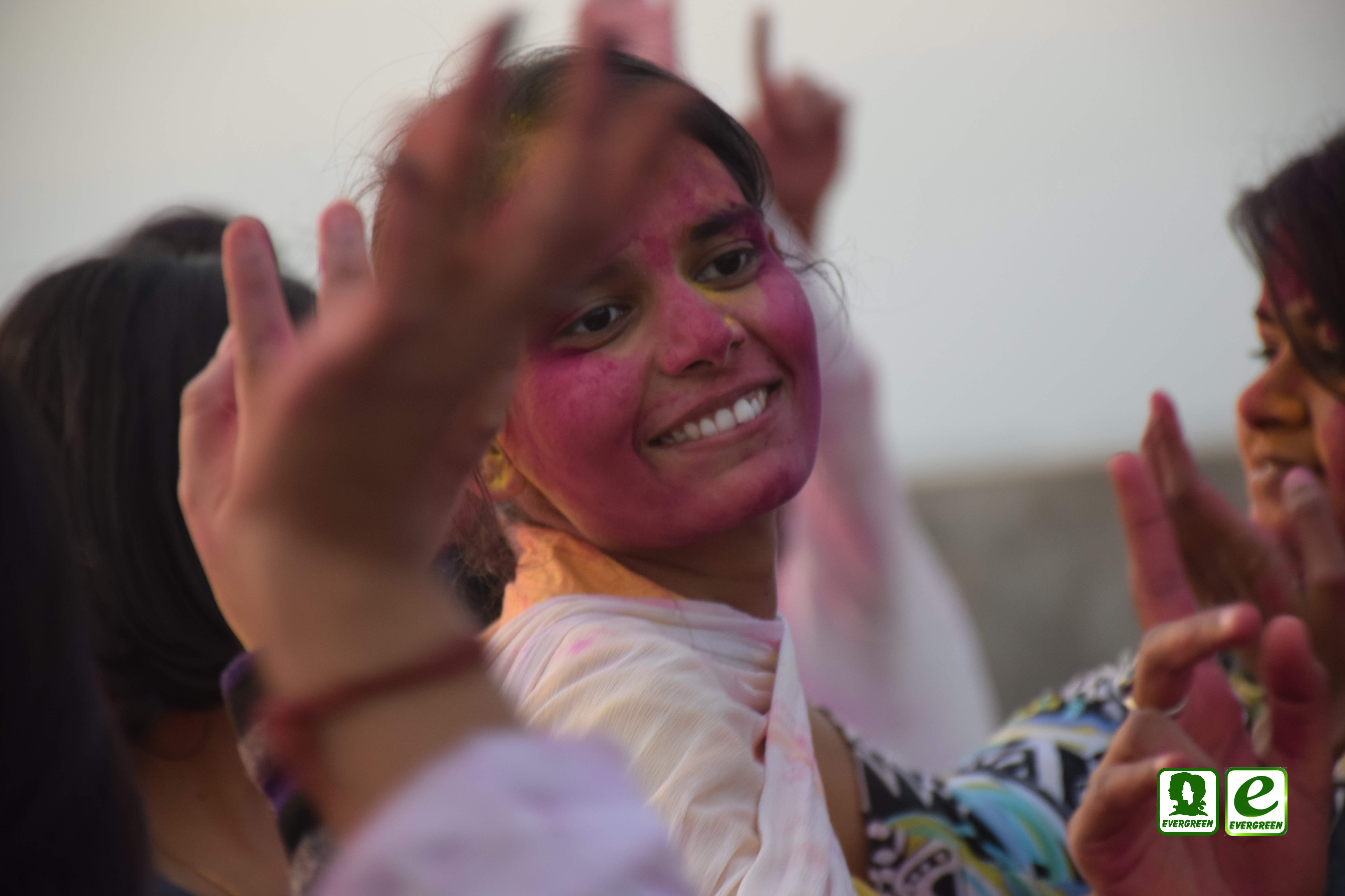 Holi Celebration at evergreen publications