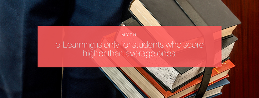 Elearning myths, elearning facts, educational updates, elearning updates, elearning for toppers