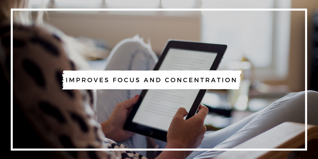 Reading Improves Focus and Concentration