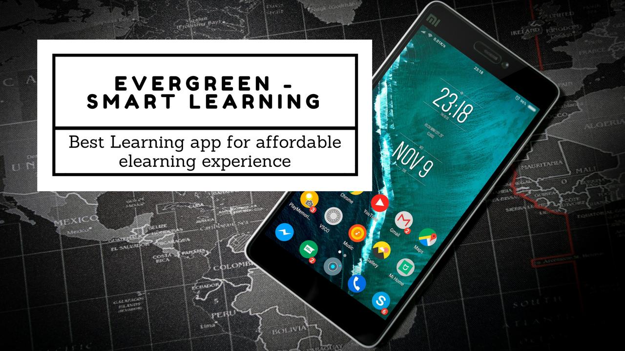 best educational app Evergreen Smart Leraning by Evergreen Publications